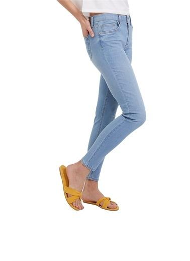 Loft Loft Nicole Nesto Light Kadın Jean pant. 2024049 2024049002 Mavi